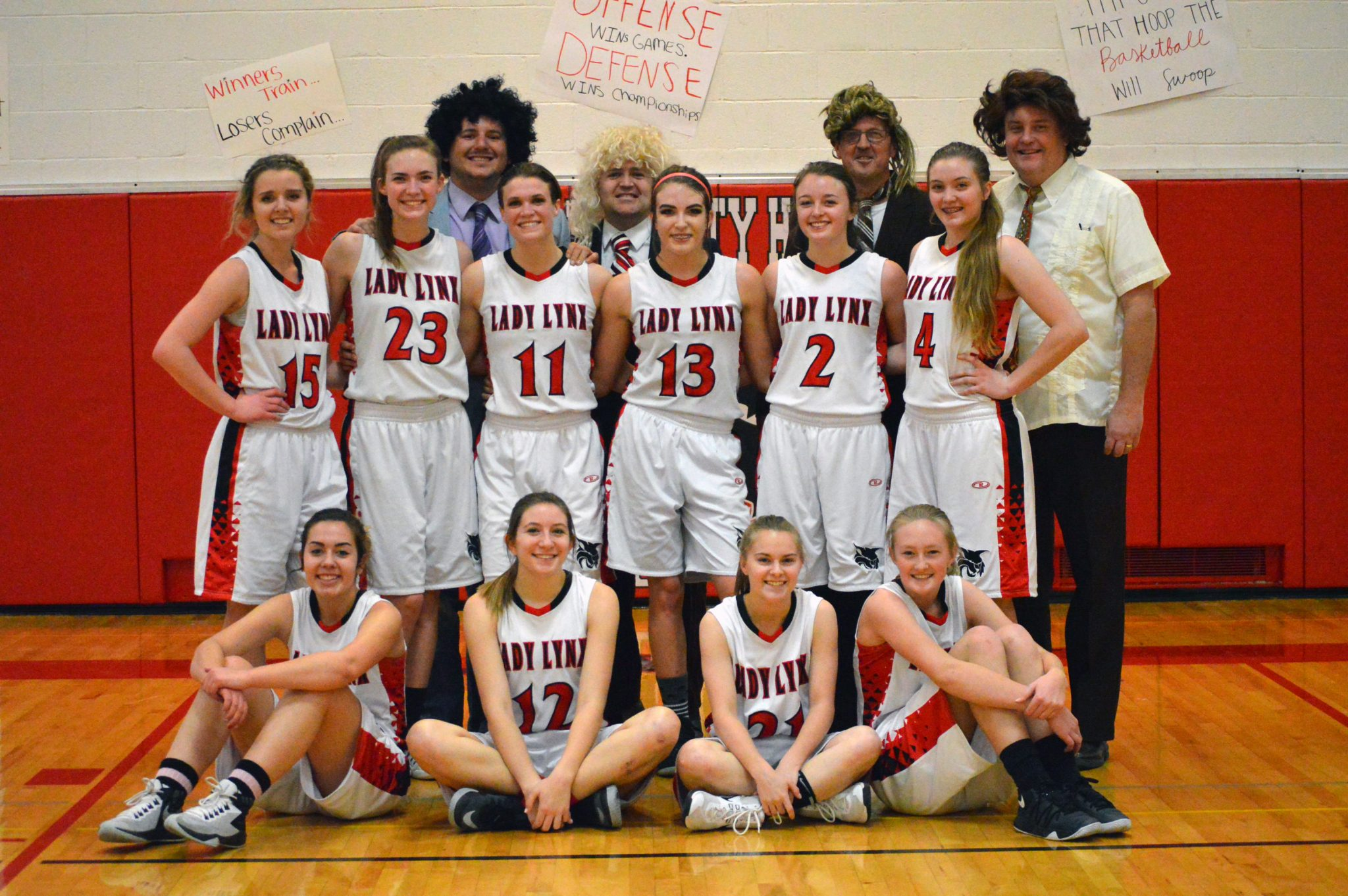 Lady Lynx Finish off Perfect Conference Season