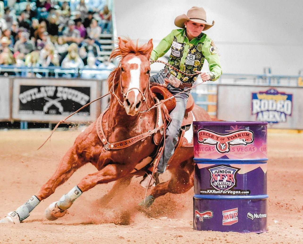 Local Cowgirl to Compete Again at National Event
