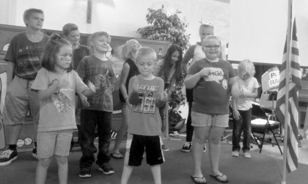 Kids Enjoy Week at Bible School