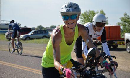 Panaca Resident Completes Triathlon on Birthday