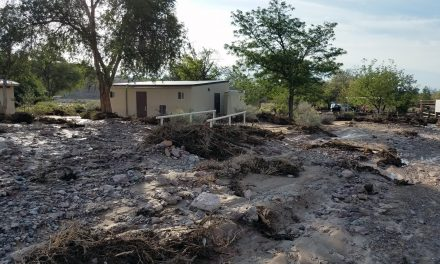 Flash Floods Strand Campers at Cathedral Gorge State Park