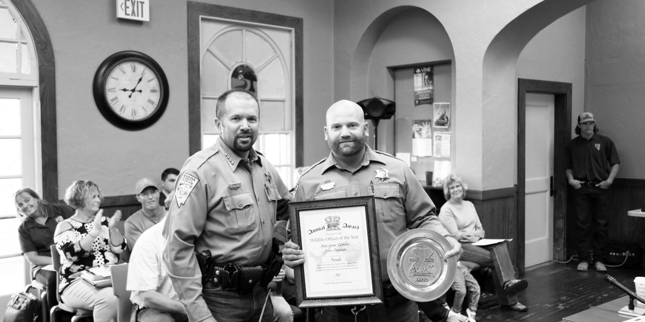 Lincoln County Officer Named Game Warden of the Year