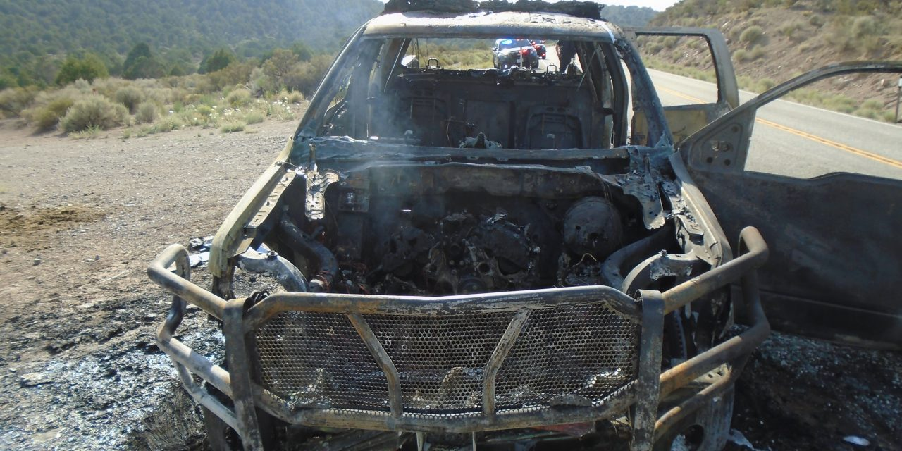 NHP Cruiser Destroyed in Blaze