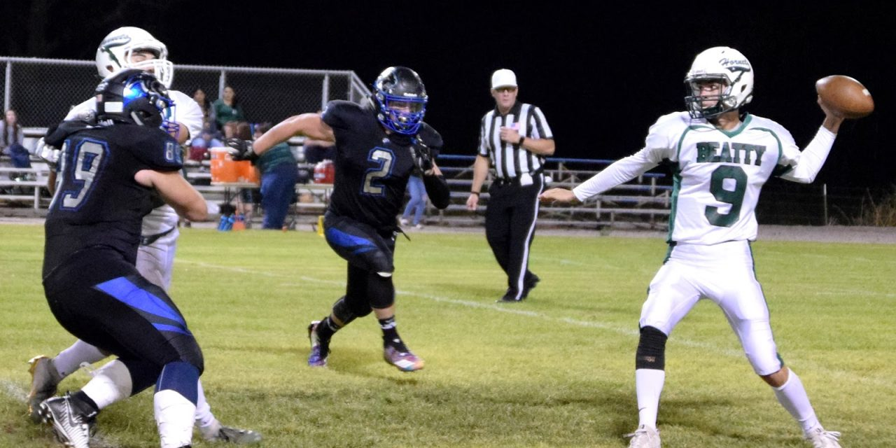 Panthers' Thornton Runs over Beatty