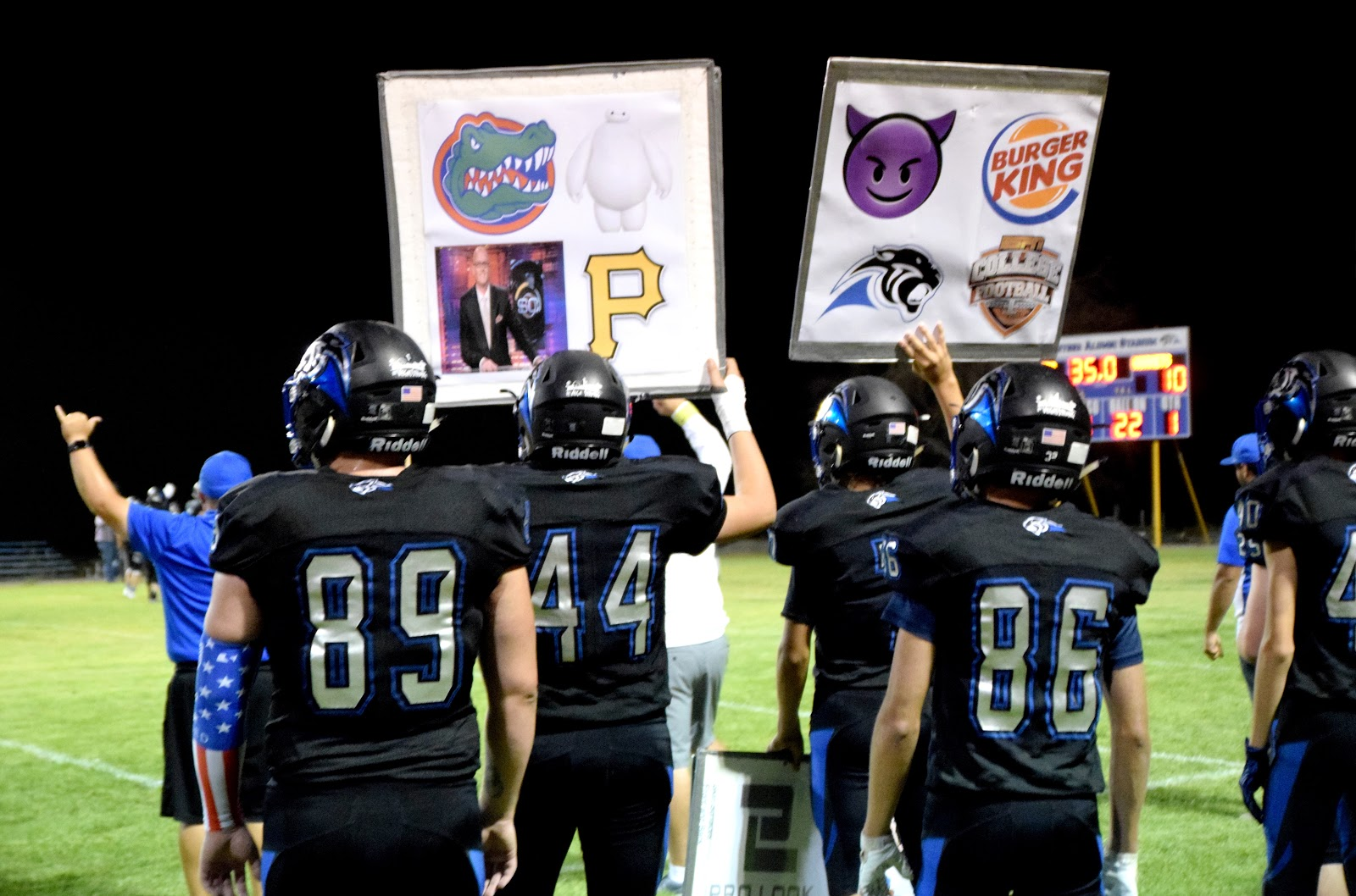 Panthers, Spring Mountain Meet for League Title