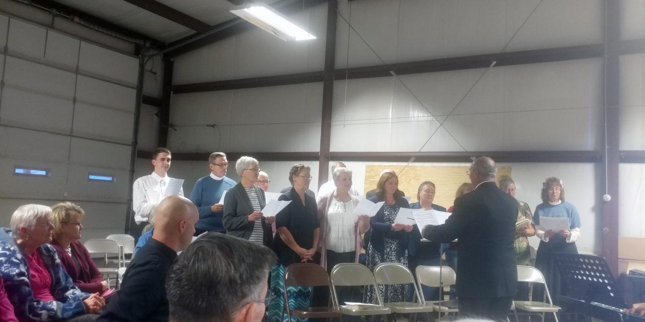 Prayer Meeting Held in Caliente