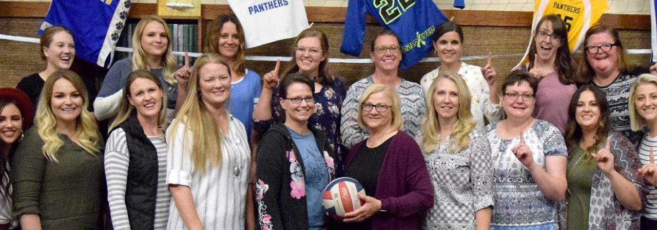 Longtime Pahranagat Valley volleyball coach honored