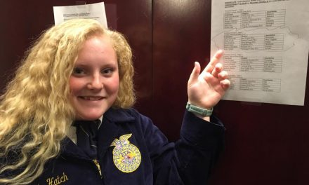 Local student competes at FFA nationals