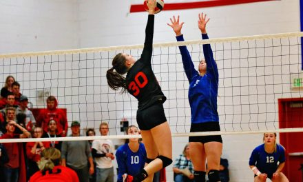 Lincoln Volleyball Set for Regionals