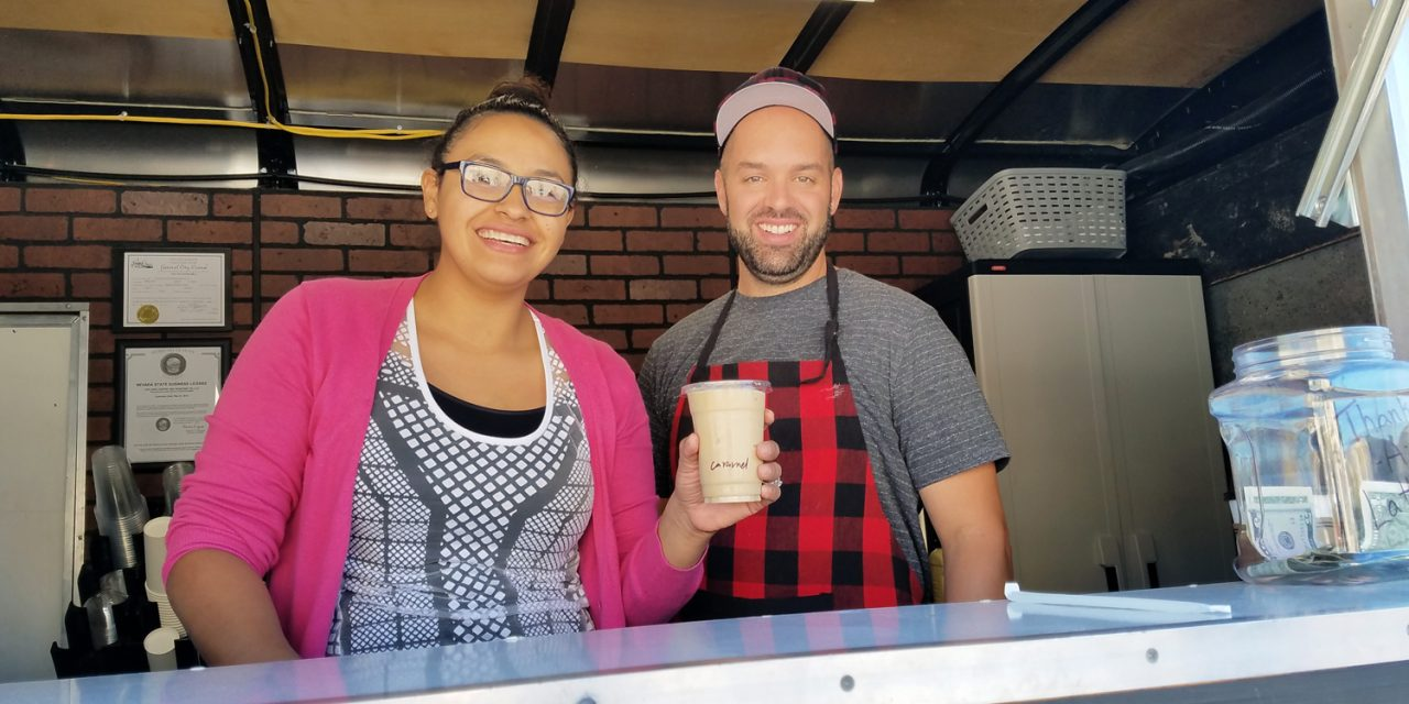 Mobile coffee shop opens in Caliente