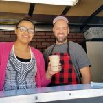 Dana Lee Freund Cole and Zaily Bradshaw recently opened their new mobile coffee shop in Caliente.