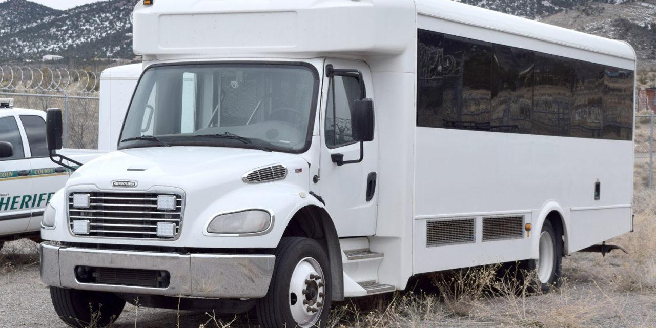 Detention center gets new transport van