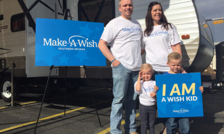 Findlay Rv, Make-A-Wish Provide Travel Trailer to Alamo Family