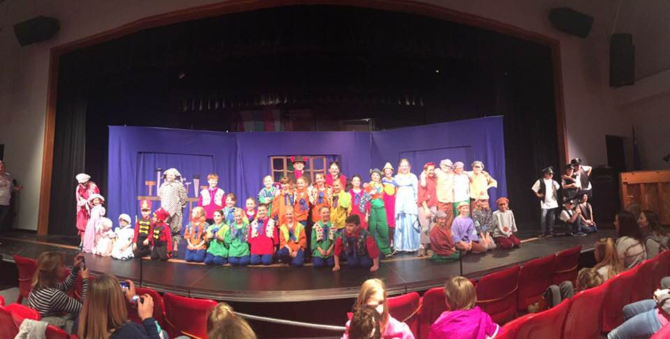 Local kids perform Pinocchio