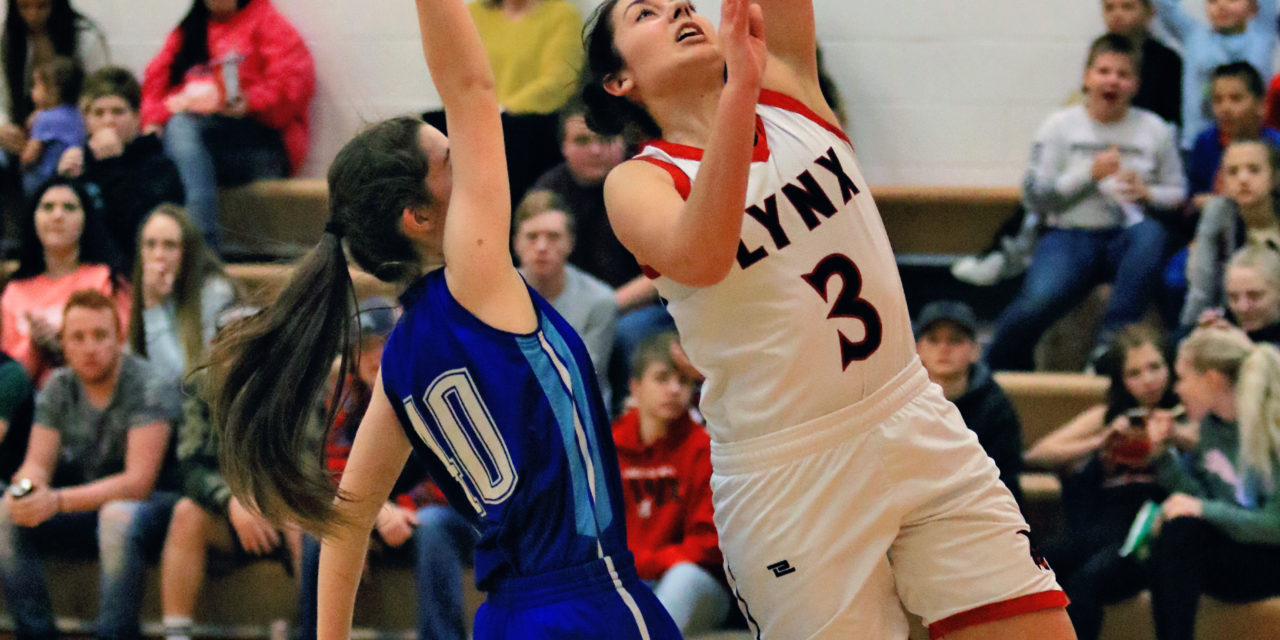Lincoln girls fall to top 2A South team, knock off Laughlin