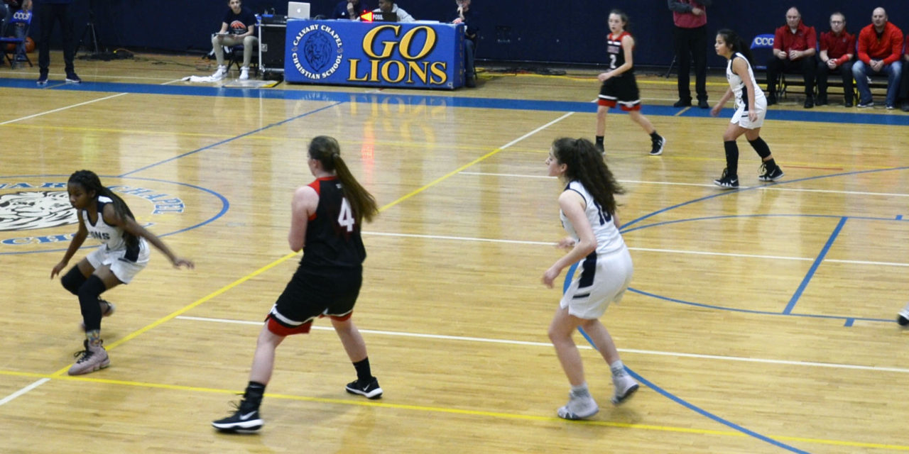 Lincoln girls fall to Calvary, defeat The Meadows