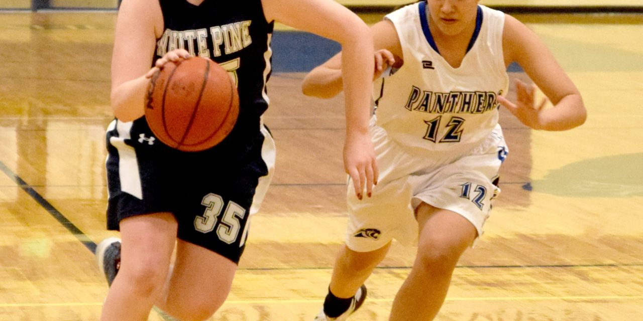 Lady Panthers drop final home game to White Pine