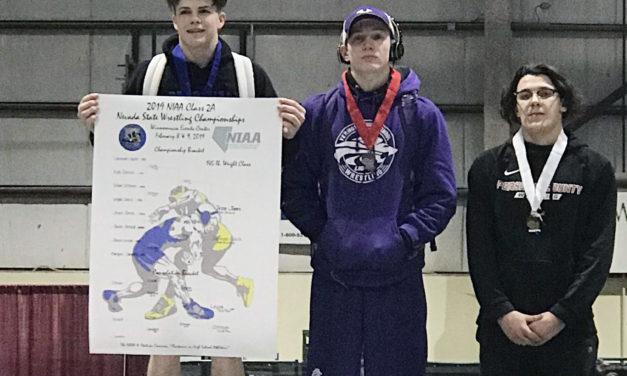 Jones wins 2A state wrestling title