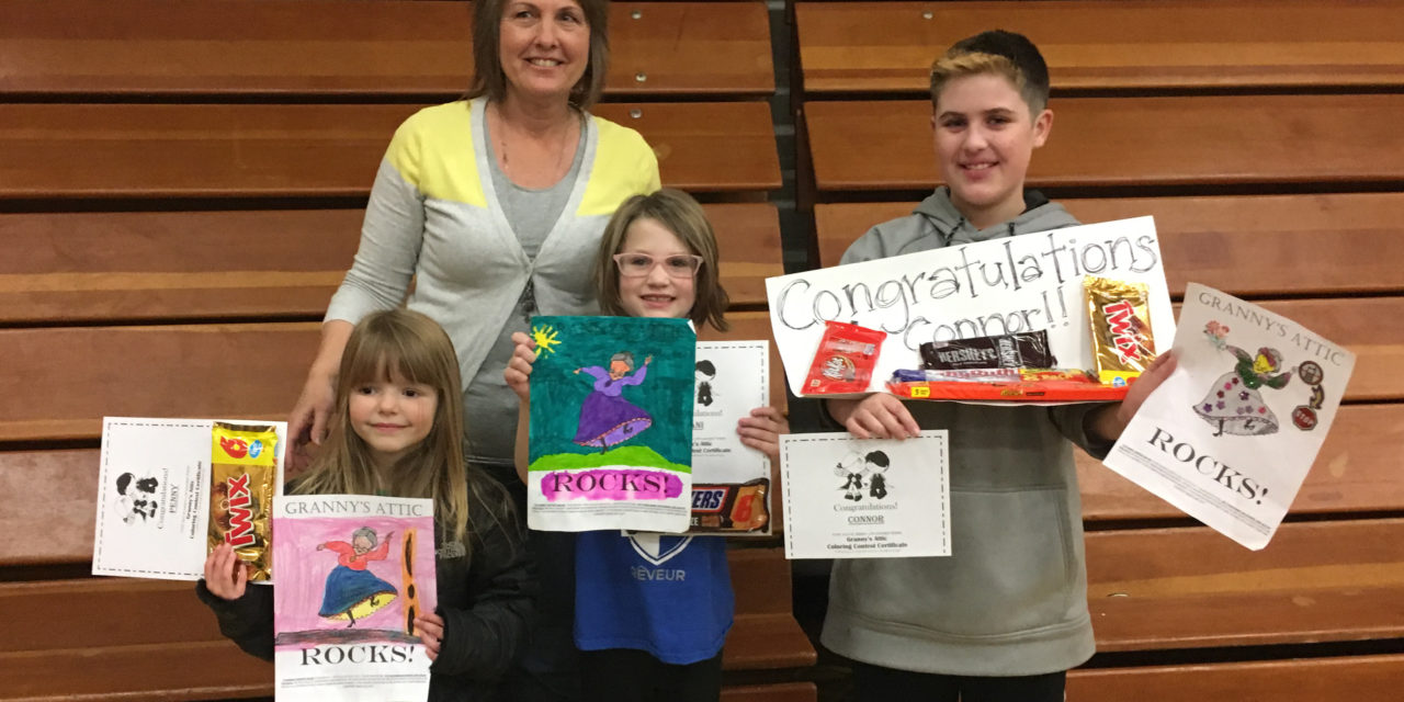Annual Granny's Attic art contest winners announced