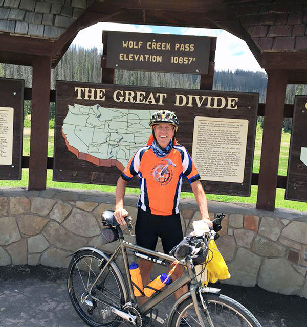 Lincoln County cyclist riding for law enforcement