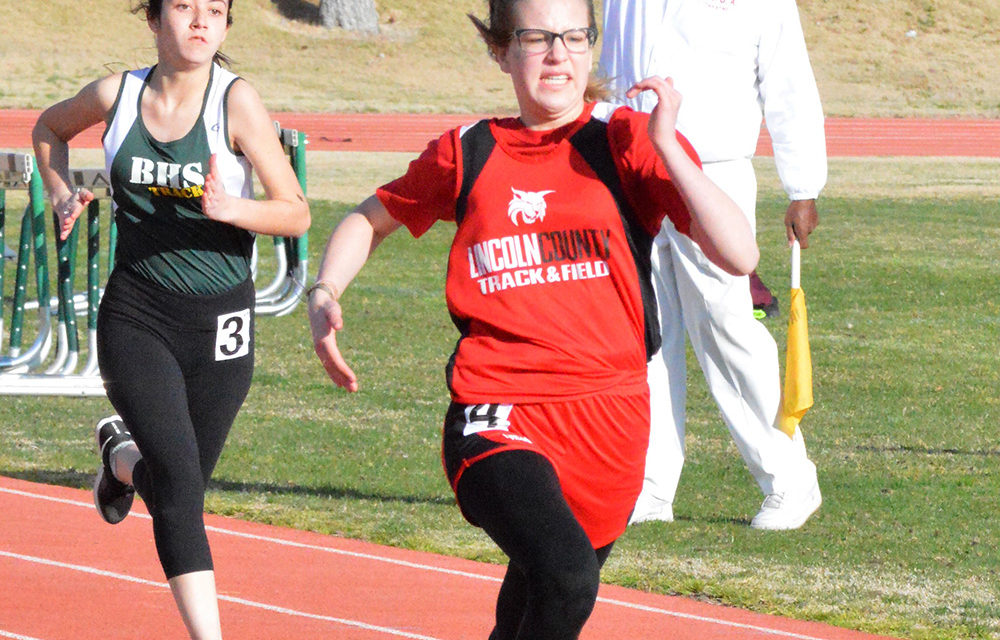 Lincoln tracksters participate in first meet