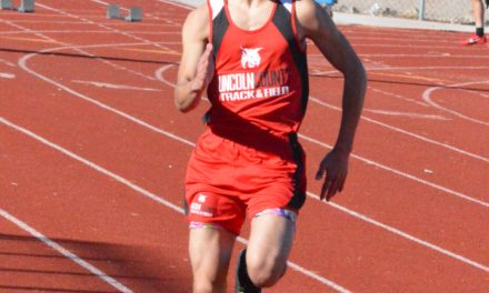 Lincoln track competes at Desert Oasis meet