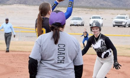 Pahranagat Valley softball blanks Round Mountain
