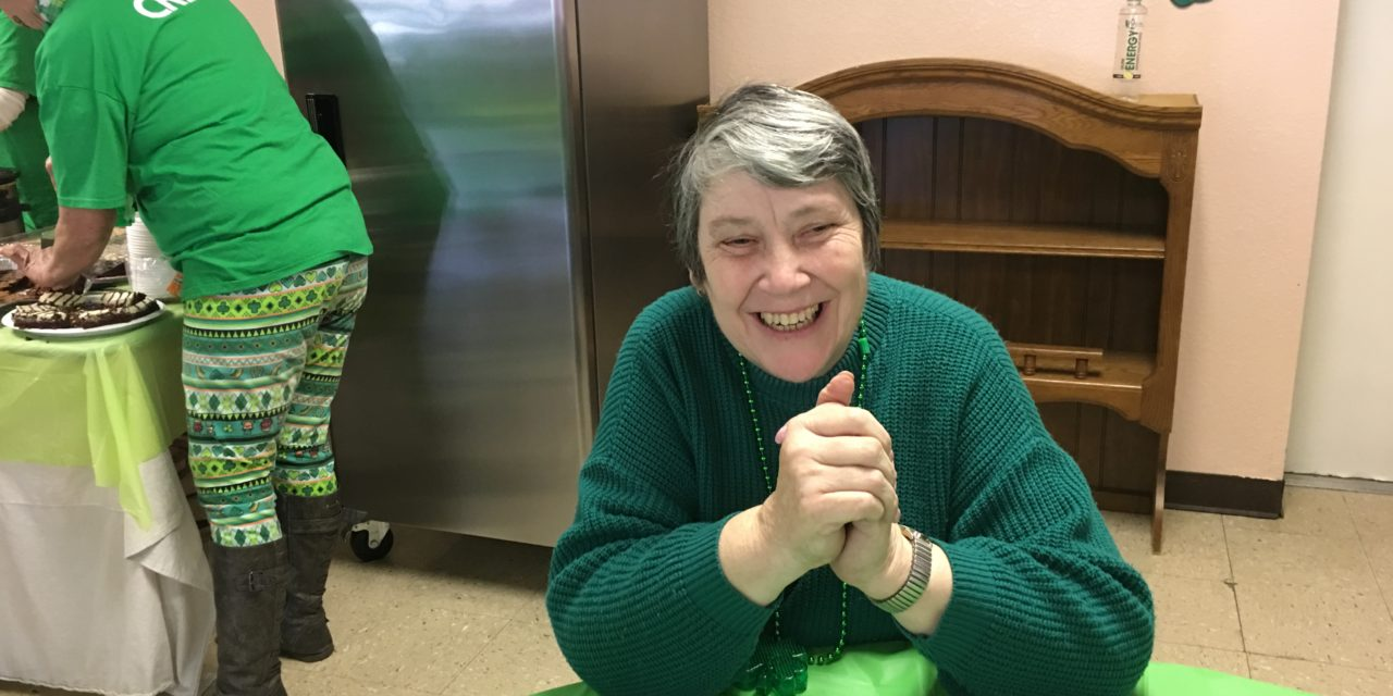St. Patty's fun at senior center