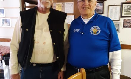 Caliente VFW receives visit from state commander