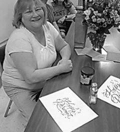 Hospital staff honors retiring nurse