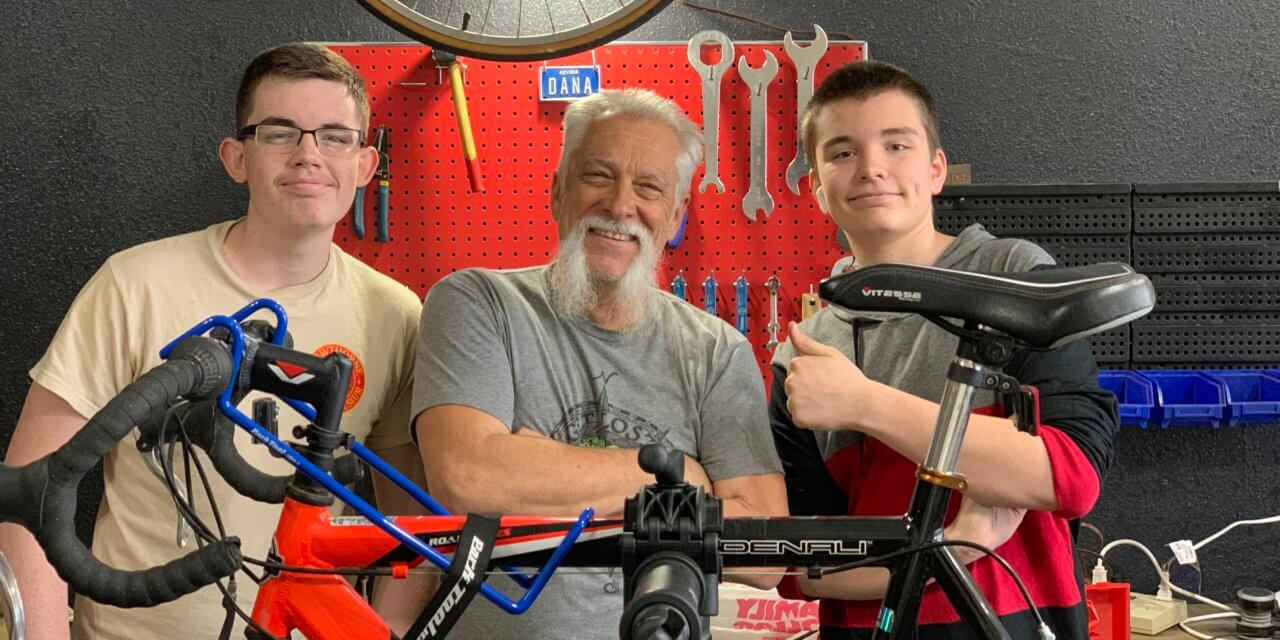 Dream becomes reality as  Tall Bike Ed's opens for business