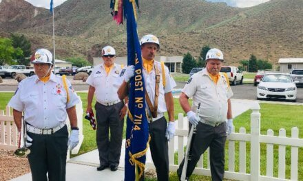 Caliente VFW celebrates Flag Day