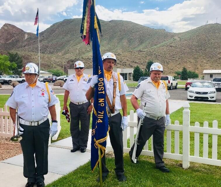 Caliente VFW celebrates Flag Day