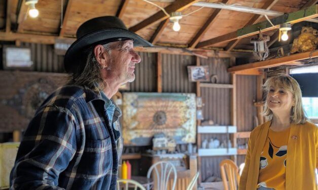 Lt. Governor stresses importance of rural tourism during Pioche visit