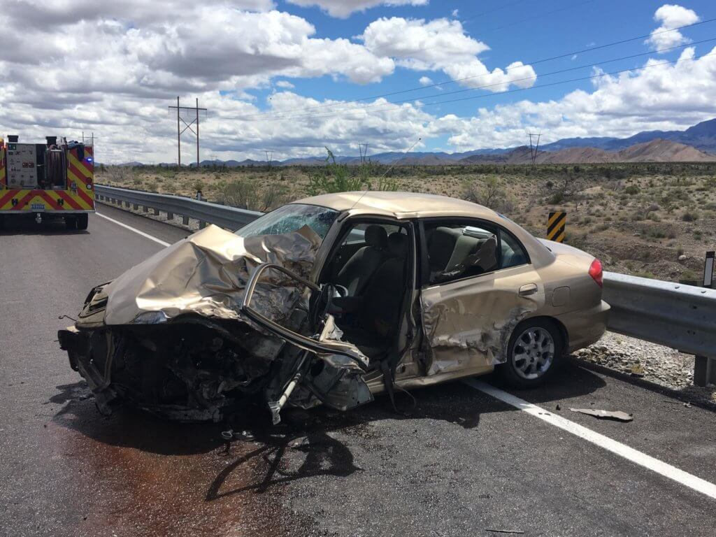 Highway 93 crashes result in DUI charge, hospitalization | Lincoln