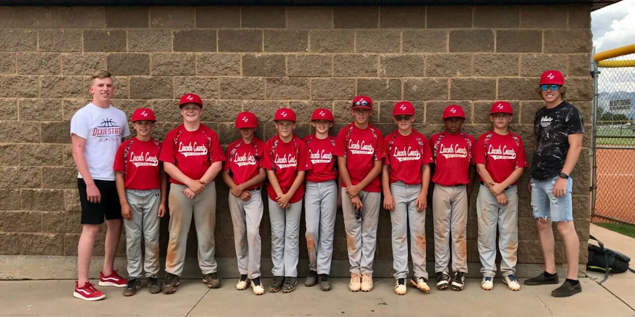 All-star Baseball Team Competitive at Tourney