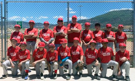 Little League All-Stars Pick up Win in Cedar City Tourney