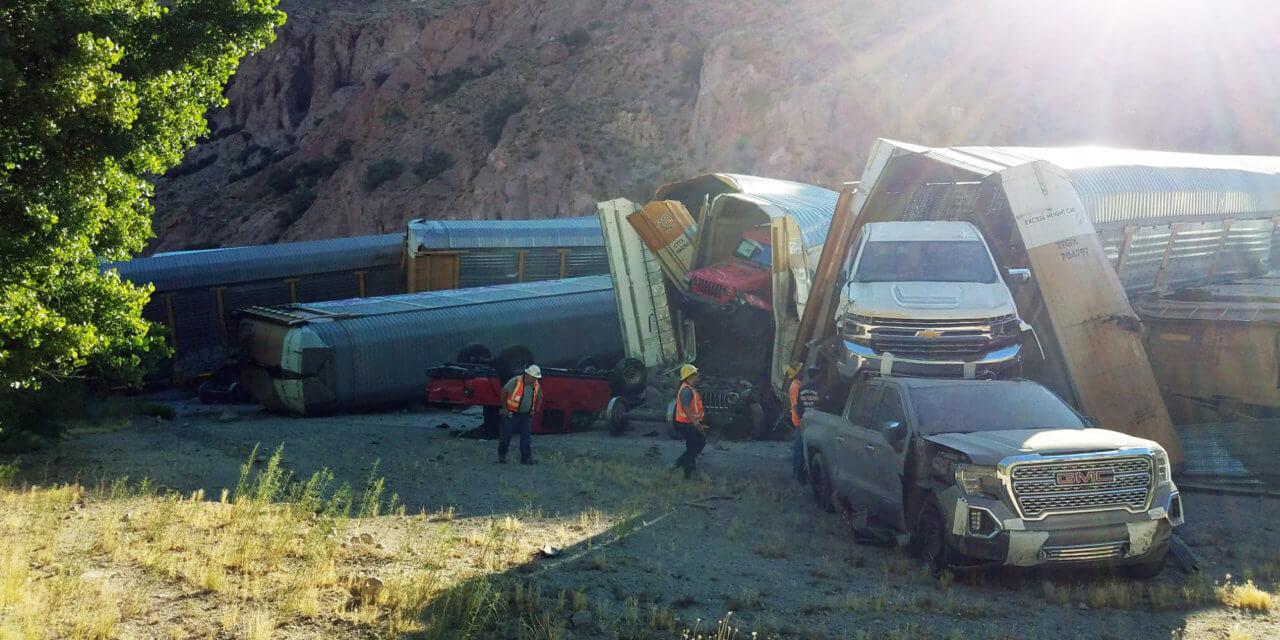 Train Derails Near Caliente