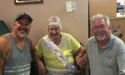 Resident Honored on 90th Birthday