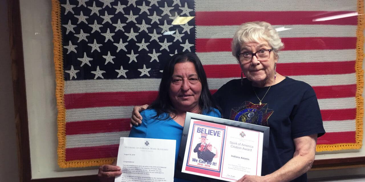 Auxiliary Award