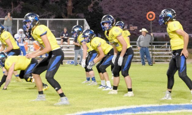 Higbee Shines at Wells in 68-18 Victory