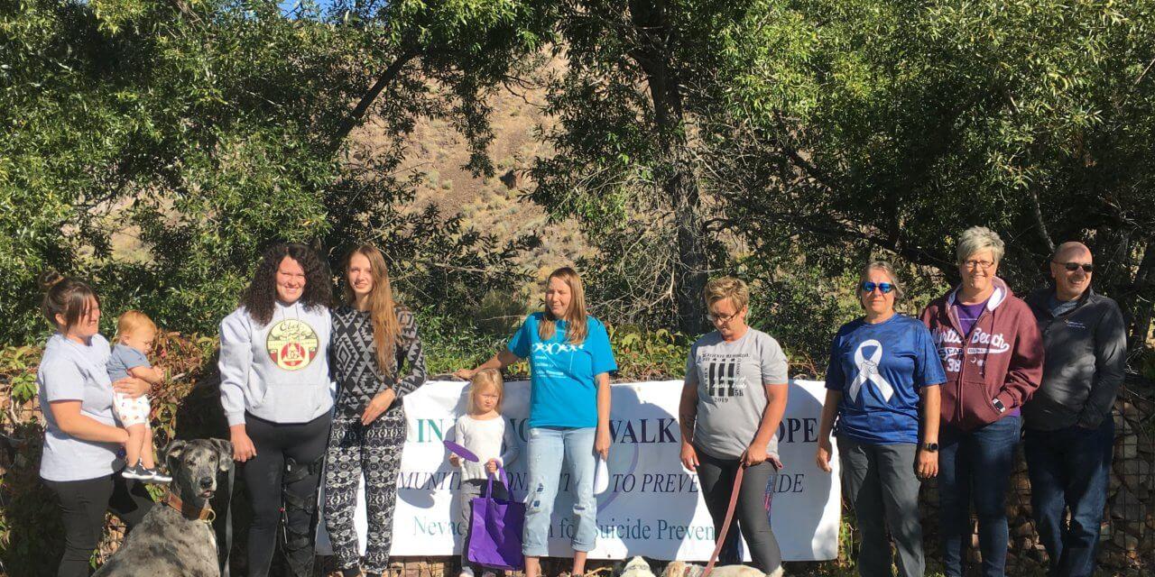 Suicide Prevention Walk Held