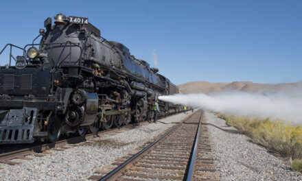 Historic steam locomotive comes to Caliente