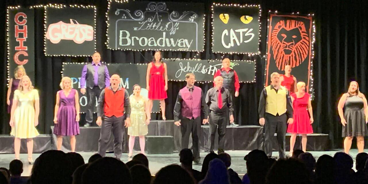 Former Member Honored as Little Off Broadway Performs