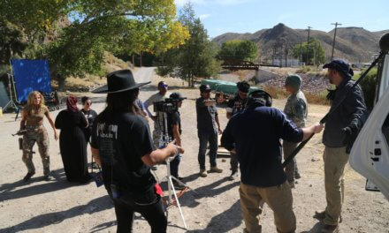 Movie production wrapping up filming in Caliente
