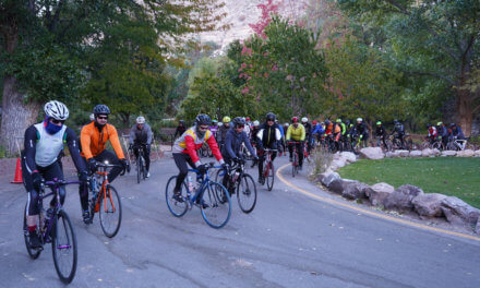 Cyclists converge on county for annual Park to Park event