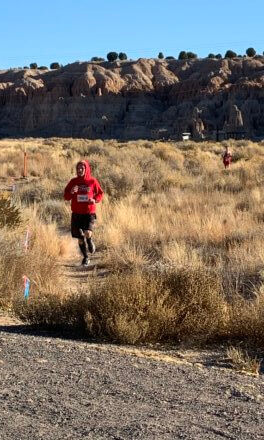 Runners converge for trail run