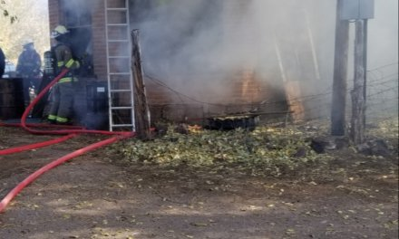 2 homes damaged in separate blazes