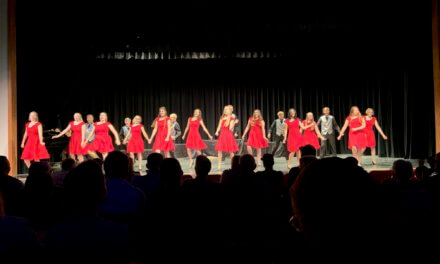 Show choir performs yearly concert