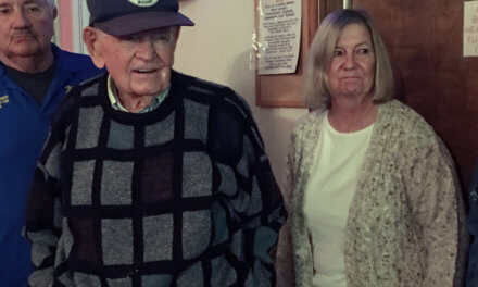 VFW honors local WWII vet on 96th birthday